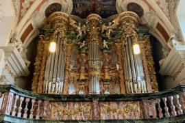 Matthias Grünert unterwegs   Erfurt St. Crucis   Volckland-Orgel   Bach O Gott, du frommer BWV 767