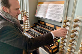 Matthias Grünert unterwegs in Ansbach an der Wiegleb-Orgel in St. Gumbertus
