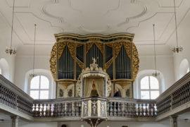 Matthias Grünert unterwegs | Ponitz Friedenskirche | Silbermann-Orgel | Walther Partita Jesu, meine Freude