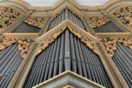 Matthias Grünert unterwegs | Großkmehlen St.-Georgs-Kirche | Silbermann-Orgel | Bach Piece d'orgue BWV 572