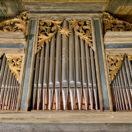 Matthias Grünert unterwegs | Coswig bei Dresden Alte Kirche | Fritzsche-Orgel | Bach Fantasie C-Dur BWV 570