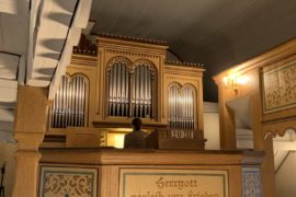 Matthias Grünert unterwegs | Eyba | Lösche-Orgel | Gustav Merkel | Andantino aus Opus 156