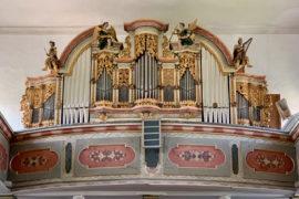Matthias Grünert unterwegs | Haina  | Seeber-Orgel | Johann Pachelbel | Ricercare in c