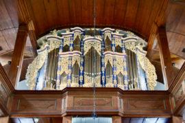 Matthias Grünert unterwegs | Gräfenroda St. Laurentiuskirche | Weise-Orgel | Johann Peter Kellner |  Präludium g-Moll