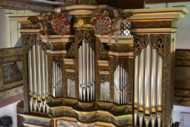 Matthias Grünert unterwegs | Bedheim Kilianskirche | Schippel- und Seeber-Orgel | Johann Heinrich Buttstedt | Fuge in e-Moll