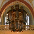 Matthias Grünert unterwegs | Römhild Stiftskirche  | Weise-Orgel | Bach | Fantasie und Fuge C Moll BWV 537